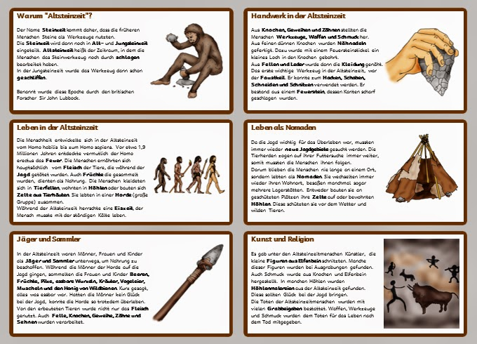krabbelwiese (im Ruhemodus): Altsteinzeit - passend zum Zeitstrahl