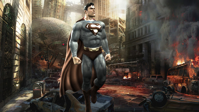 super man warner bros game