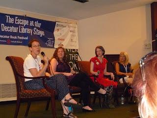 Terra McVoy, Elizabeth Eulberg, Stephanie Perkins and Jennifer Jabaley