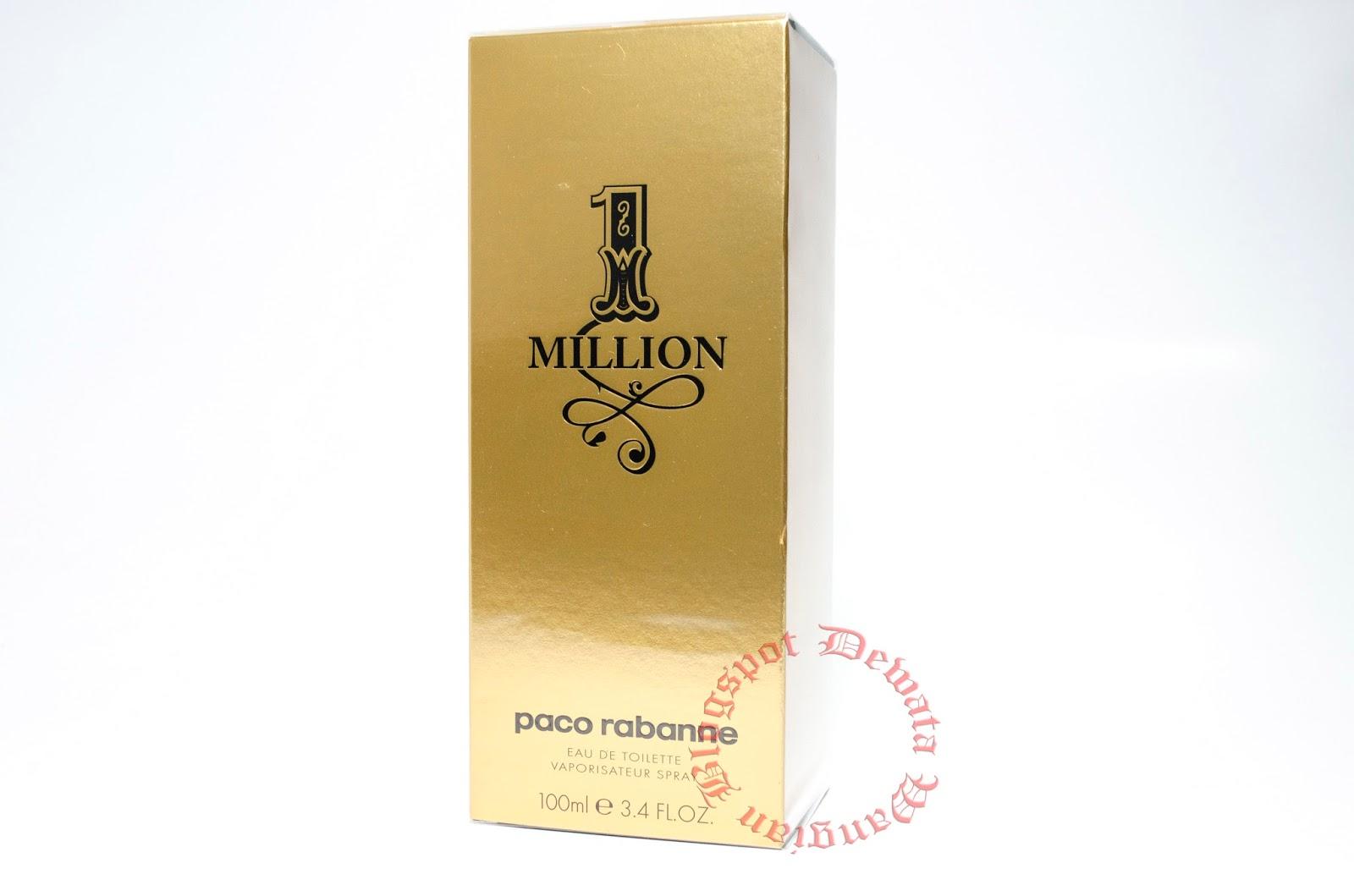 wangian perfume cosmetic original terbaik 1 million by. Black Bedroom Furniture Sets. Home Design Ideas