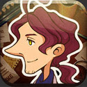 LAYTON BROTHERS MYSTERY ROOM App iTunes App Icon Logo By Level-5 Inc - FreeApps.ws