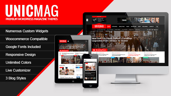 download UnicMag - WordPress Magazine Theme