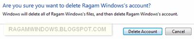 Menghapus pengguna windows 7