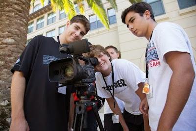 dmafilmmakersworktogether-1 Save $75 off summer camps at Digital Media Academy