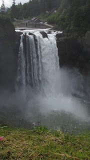 Snoqualmie Falls in the state of Washington