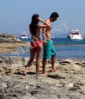 Ranbir Kapoor and Katrina Kaif spotted at  Ibiza  beaches