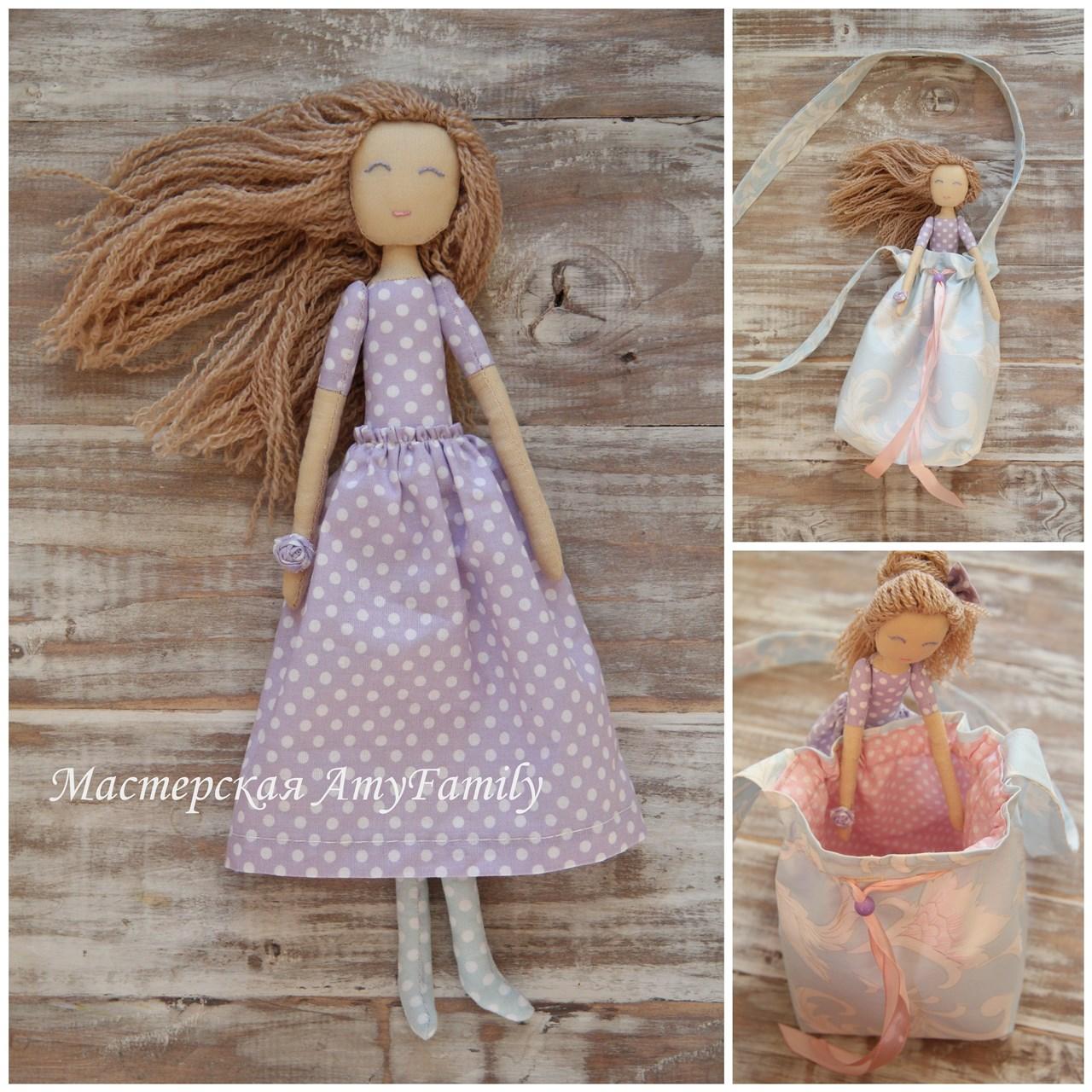 Сшитые из ткани куклы 34
