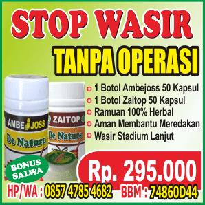 STOP WASIR Tanpa Operasi