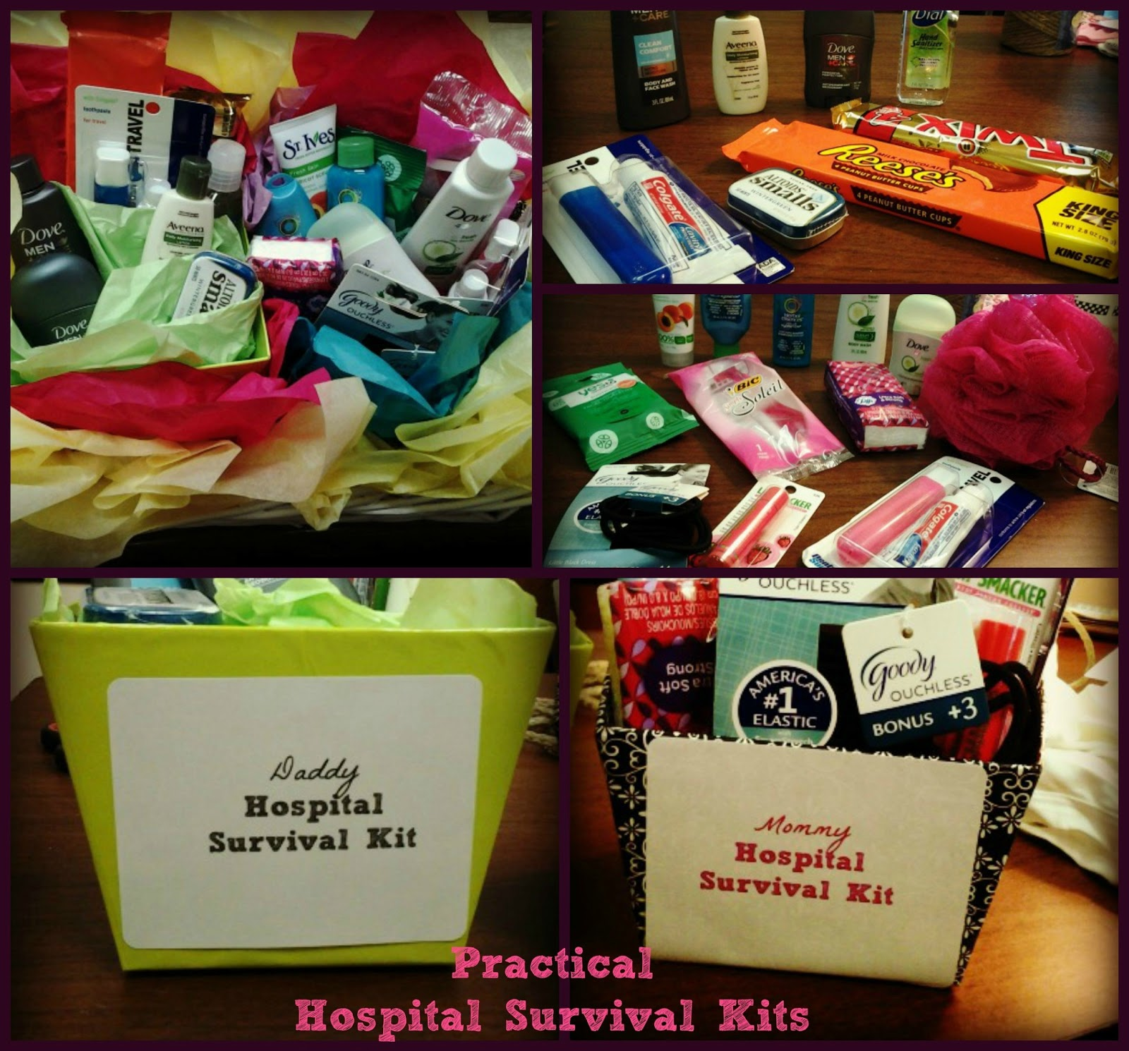 Amp Love Makes A Family Practical Hospital Survival Kits