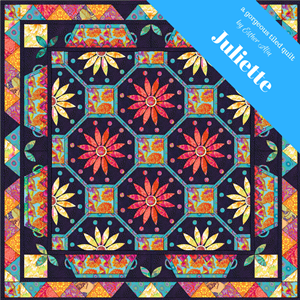 'Juliette' a gorgeous tiled quilt block design