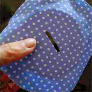 papelão revestido com tecido