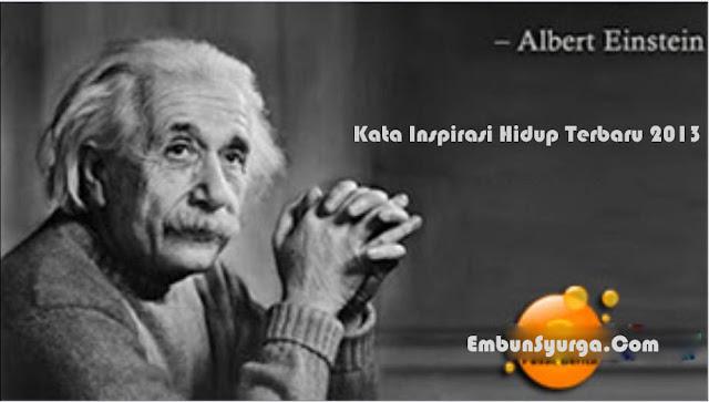 Kata-kata Inspirasi Hidup Albert Einstein