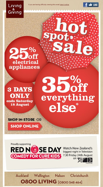 MySale Living & Giving Sale