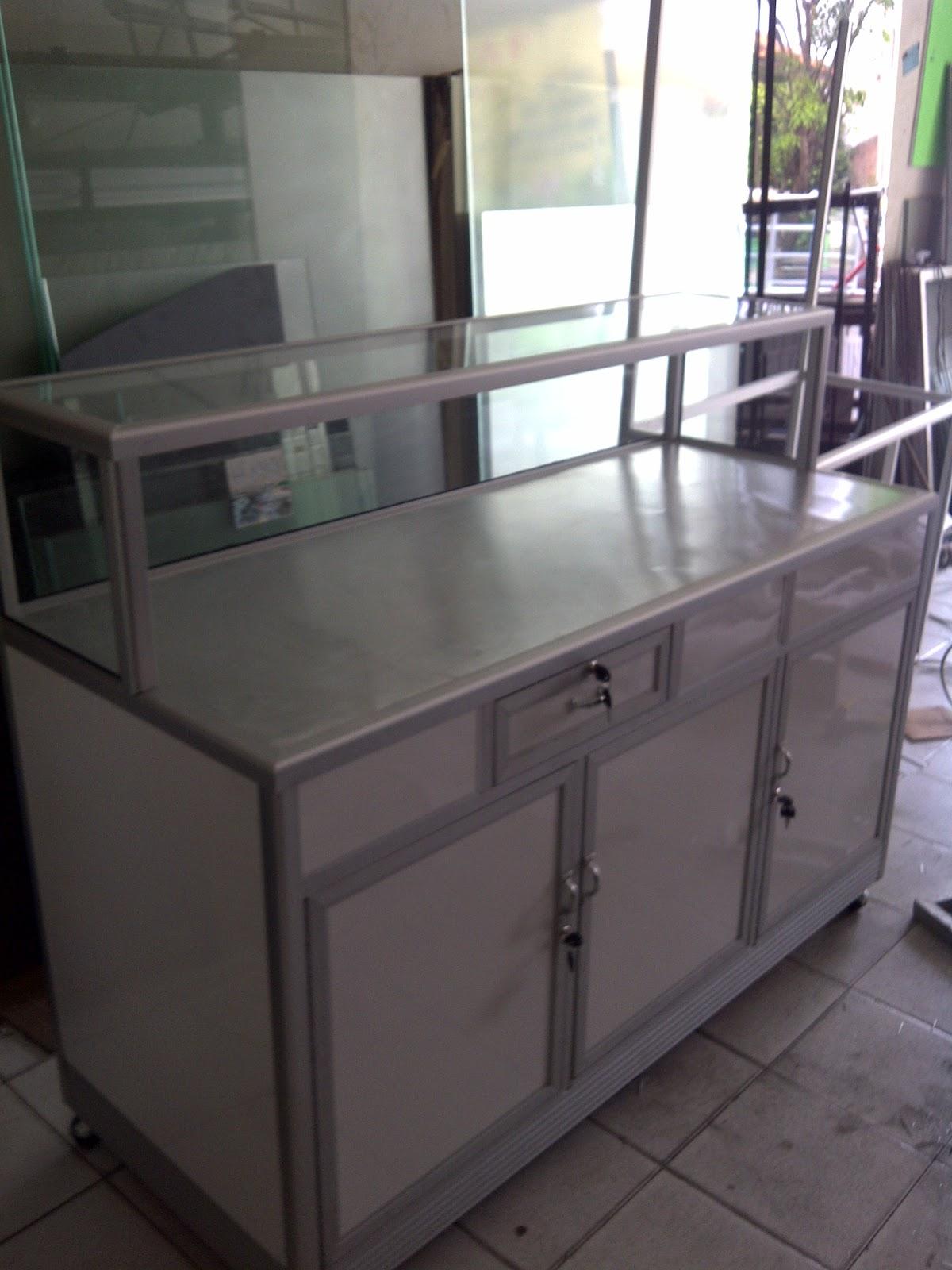 Kitchen set rayap - Toko Aluminium Bekasi Gerobak Aluminium