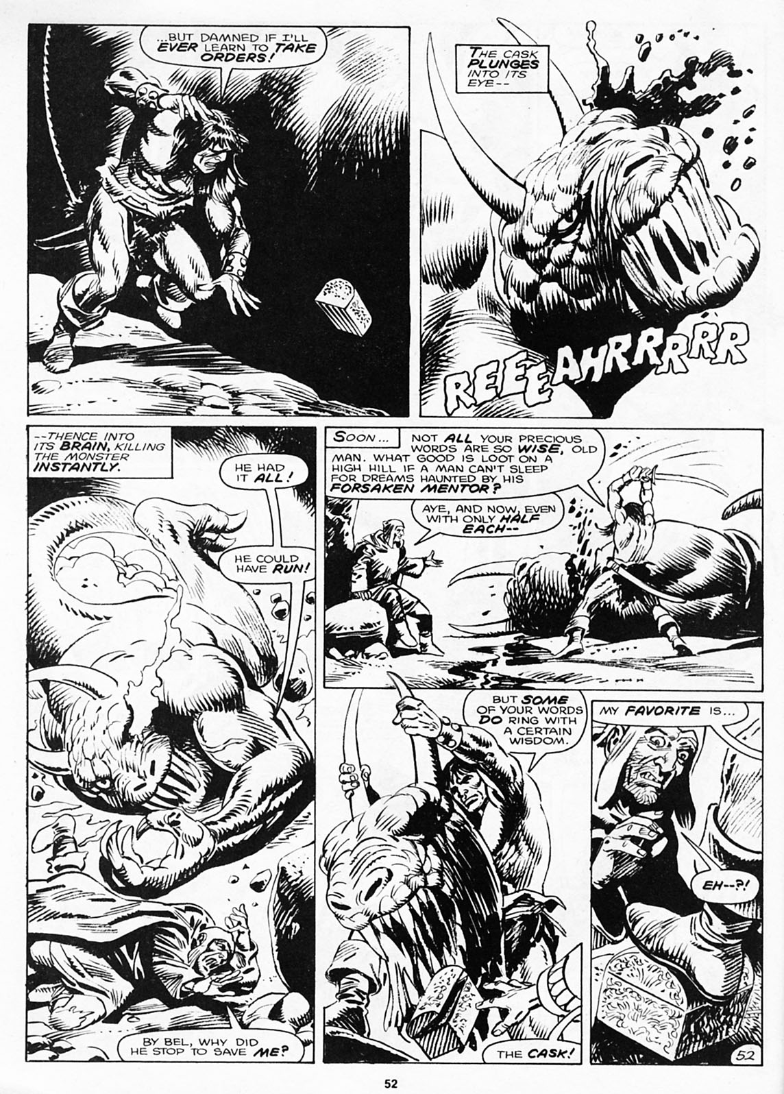 The Savage Sword Of Conan Issue #180 #181 - English 54