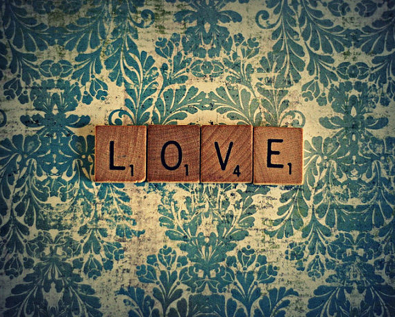 Scrabble Tile Love Photo by J.M. Barclay Photography