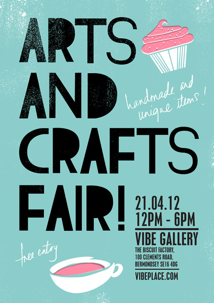London pop ups arts crafts spring fair in bermondsey for Arts and crafts fairs