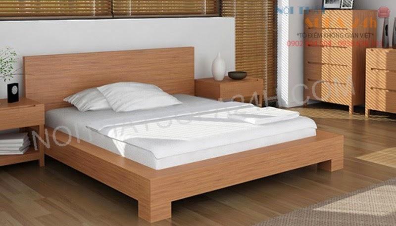 Giường ngủ GN068