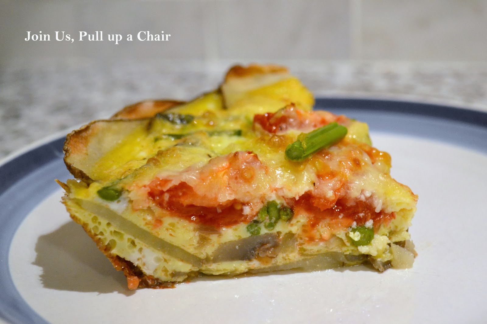 ... , Mushroom And Ham Quiche With A Potato Crust Recipes — Dishmaps
