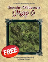 CSP  Into the Wilderness: Map 0 on DTRPG