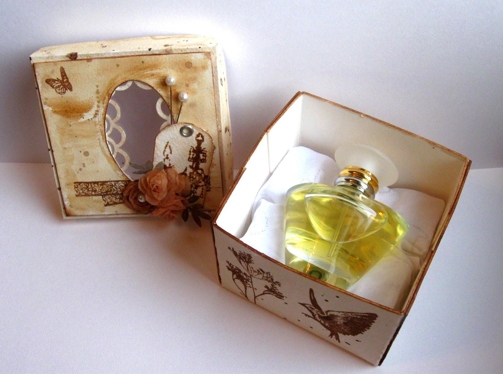 Своими руками упаковка для духов