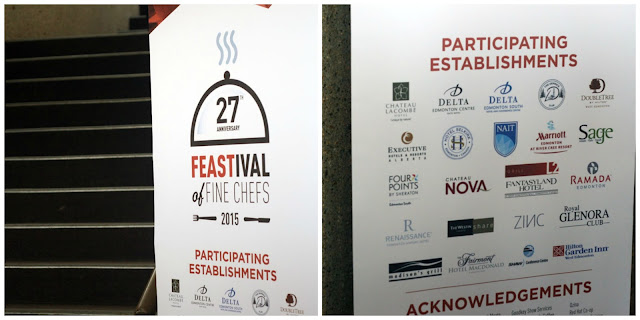 participating establishments for FEASTival of Fine Chefs 2015