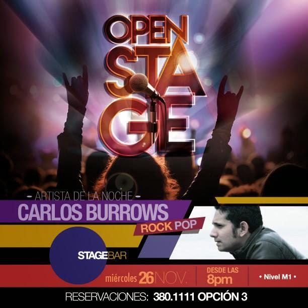 Stage Bar - Carlos Burrows