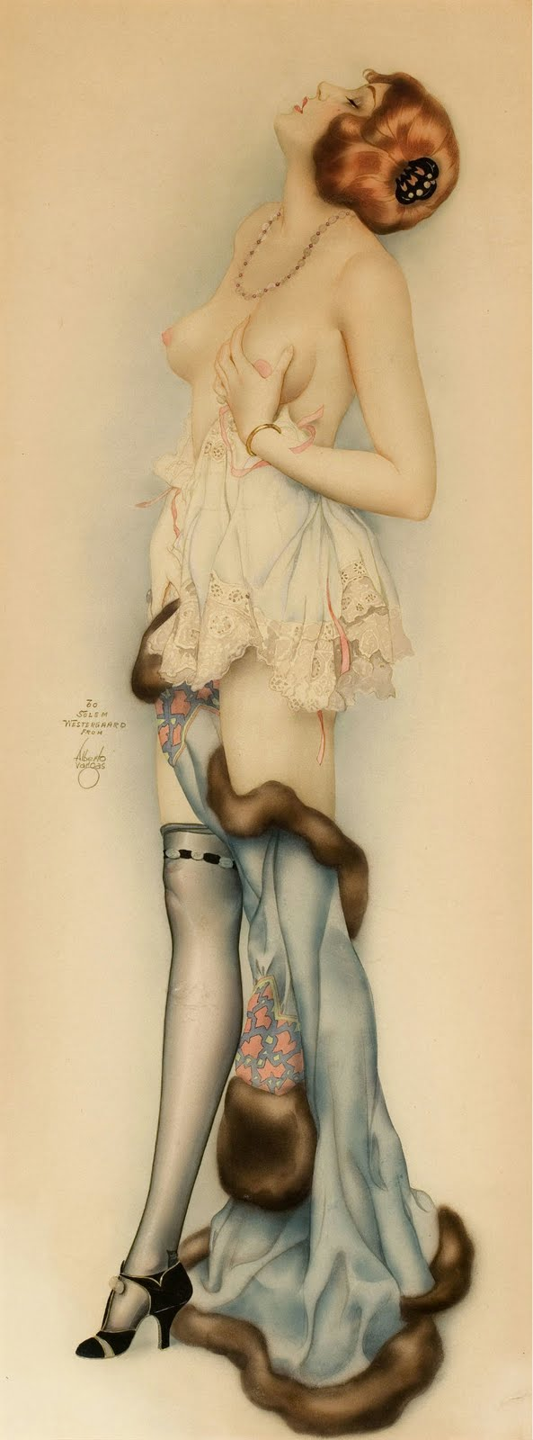 alberto vargas illustration