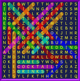 Binweevils Wordsearch Answers Party Time