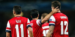 Video Gol Pertandingan Arsenal Vs Napoli di Liga Champions 2013