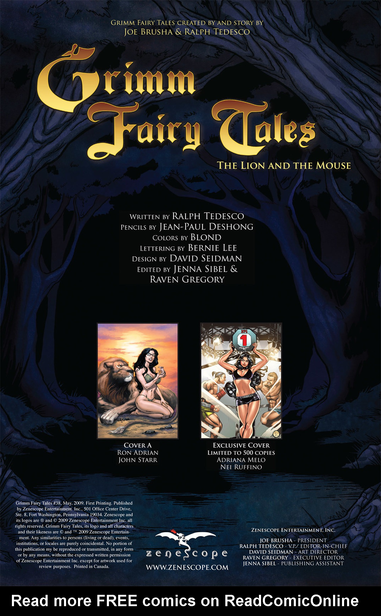 Grimm Fairy Tales (2005) Issue #38 #41 - English 2