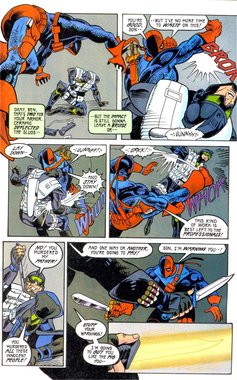 Deathstroke (1991) Annual 2 #2 - English 41