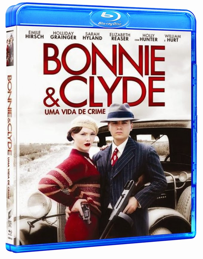 Bonnie e Clyde – Uma Vida de Crime – BluRay – Dual Áudio
