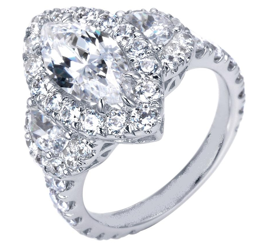 The charm of marquise diamond ring settings Ring Review