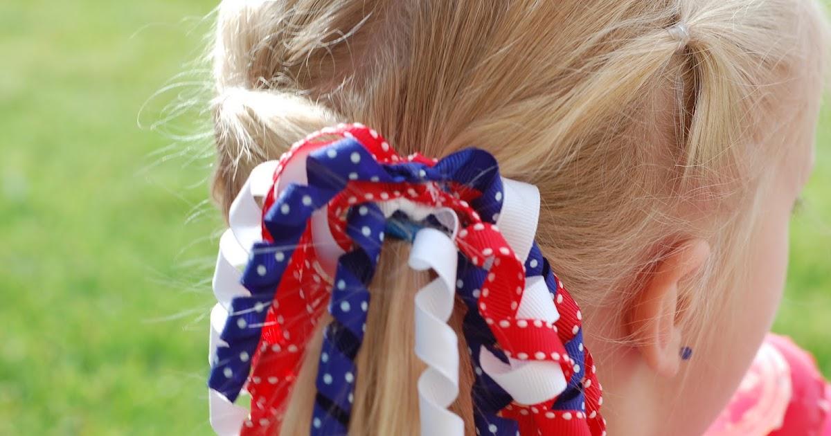 hair bows in curly hair - photo #21
