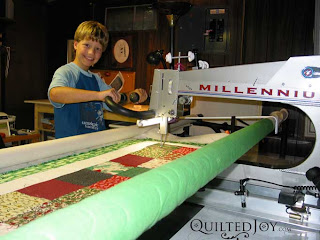 Batch Of Used Longarm Quilting Machines Ready For Adoption
