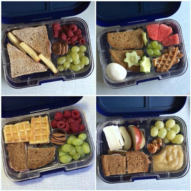 Mittwochs mag ich, Mmi, Frollein Pfau, Yumbox, Lunchbox, Bentobox, Frühstücksbox mit Aufteilung, Frühstücksdose mit Fächern, Kita, Kindergarten, Frühstück, Brotdose auslaufsicher