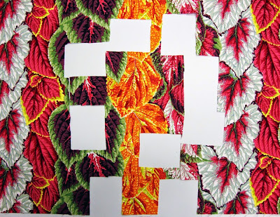 Robin Atkins, shimmer quilt, cutting fabric for half-square triangles