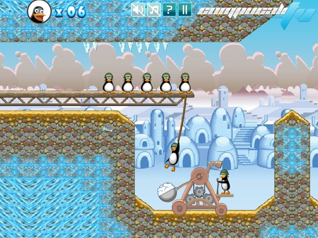 Crazy Penguin Catapult PC Full EXE Descargar 1 Link