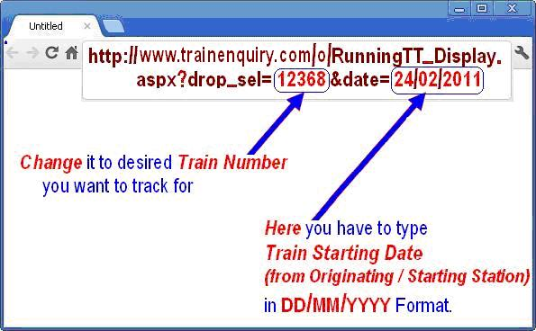 live train running information latest shortcut trick