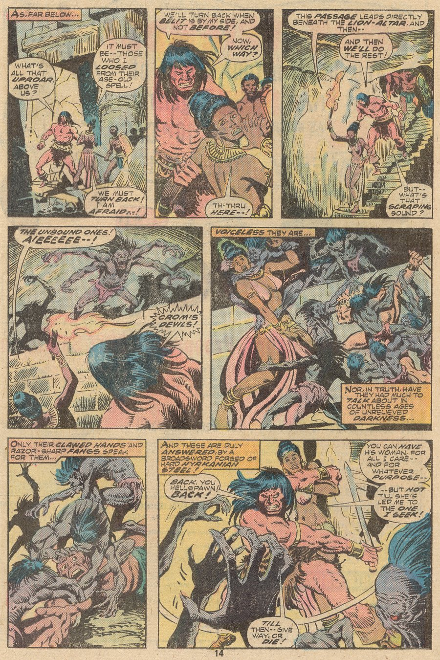 Conan the Barbarian (1970) Issue #63 #75 - English 9
