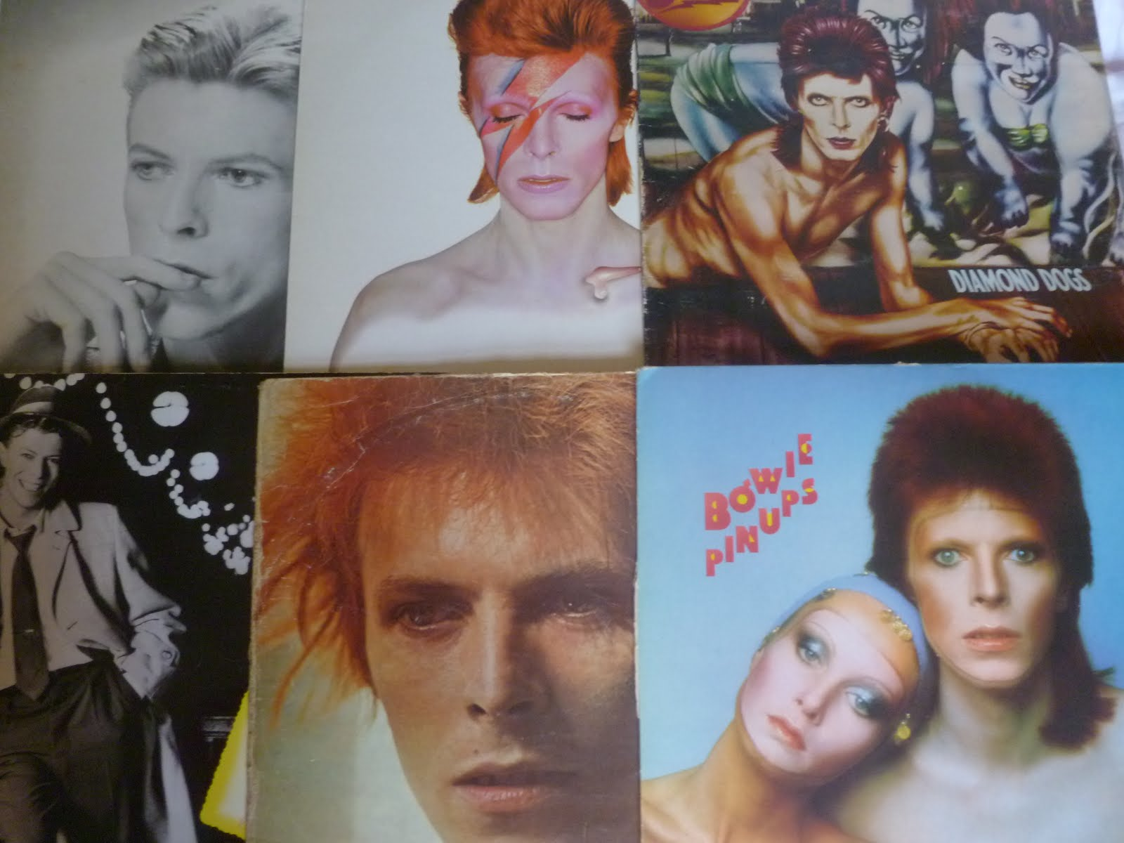 Fredbutlerstyle Sat 14th Jan David Bowie And Mick Ronson