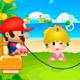 Mario Rope Skipping jogo do Mario