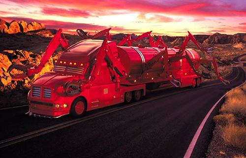 fotos de camiones fantasticos y de miedo 1