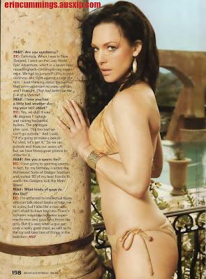 Erin Cummings Bikini in Muscle and fitness Magazine