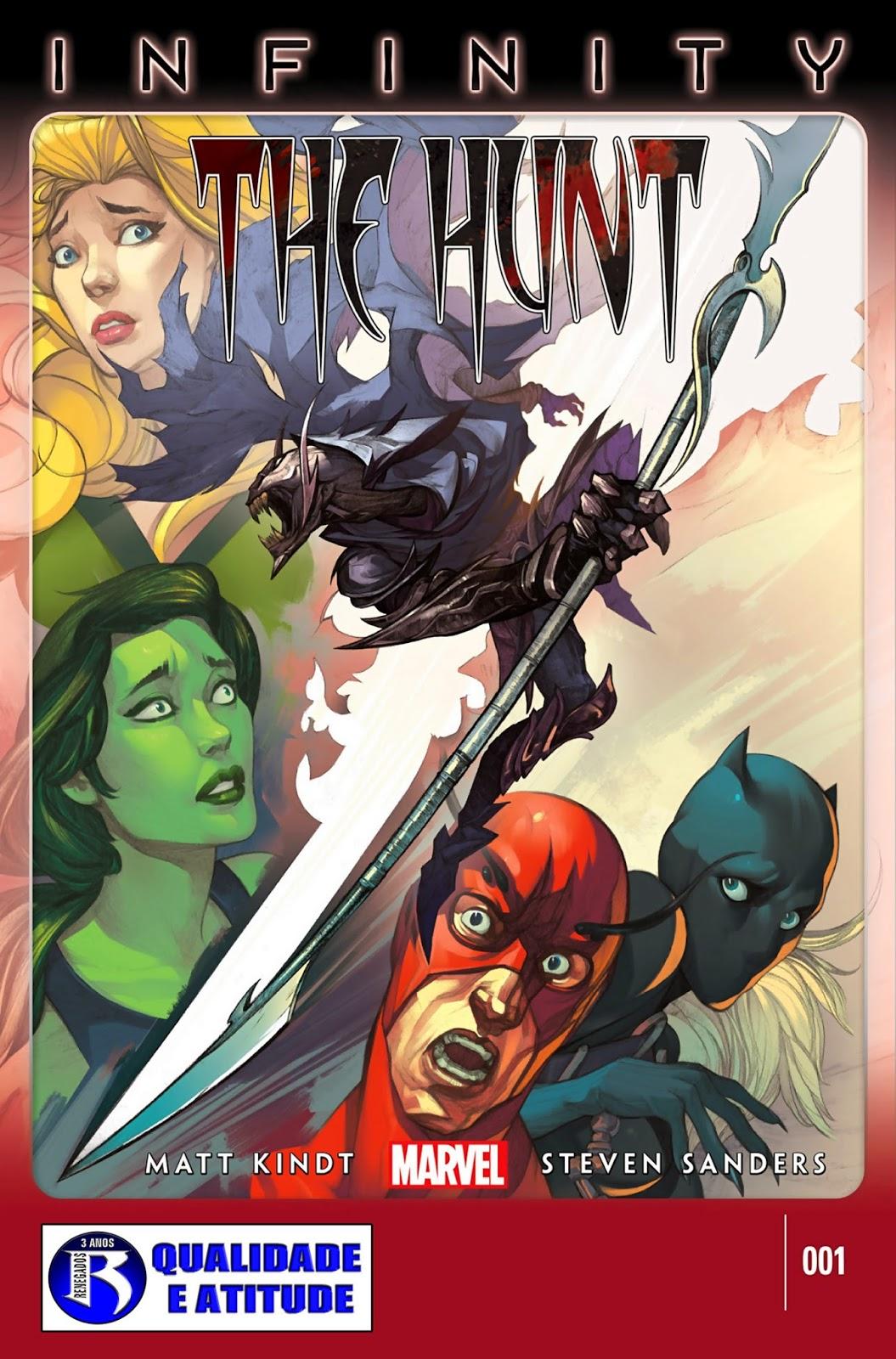 Nova Marvel! Infinito: A Caçada #1