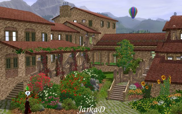 My Sims 3 Blog Tuscan House With Vineyard No 2 By Jarkad