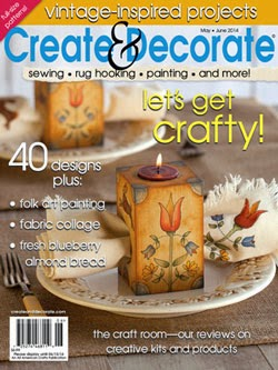 Create & Decorate May/ June 2014