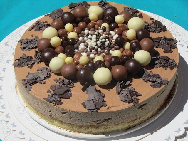 Tarta helada de nutella Ana Sevilla con Thermomix