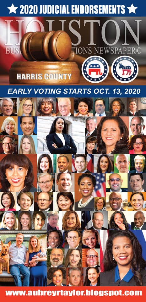 Judicial Races Matter -- Vote All the Way Down Your Ballot on Tuesday, November 3, 2020.